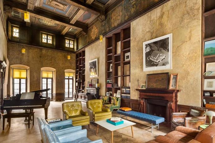 After selling up their East Village townhouse Mary-Kate Olsen and Olivier Sarkozy were said to be in search of something more private, hence their decision to buy this grand home off painter David Deutch.