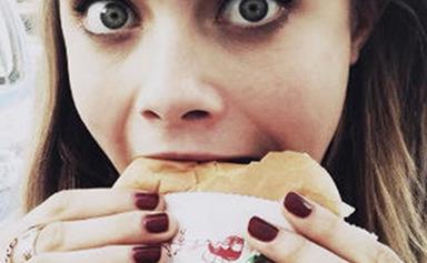 Celebrities' junk food indulgences