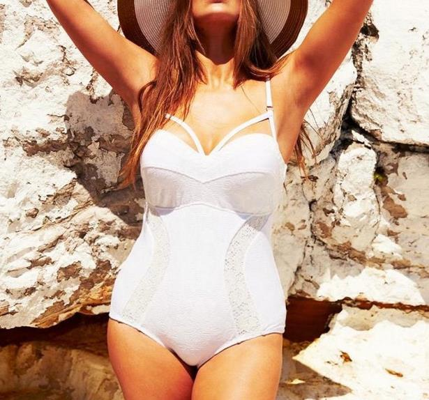 Robyn Lawley's lingerie inspired swimwear