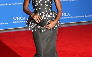 Lupita Nyong'o in Oscar de la Renta