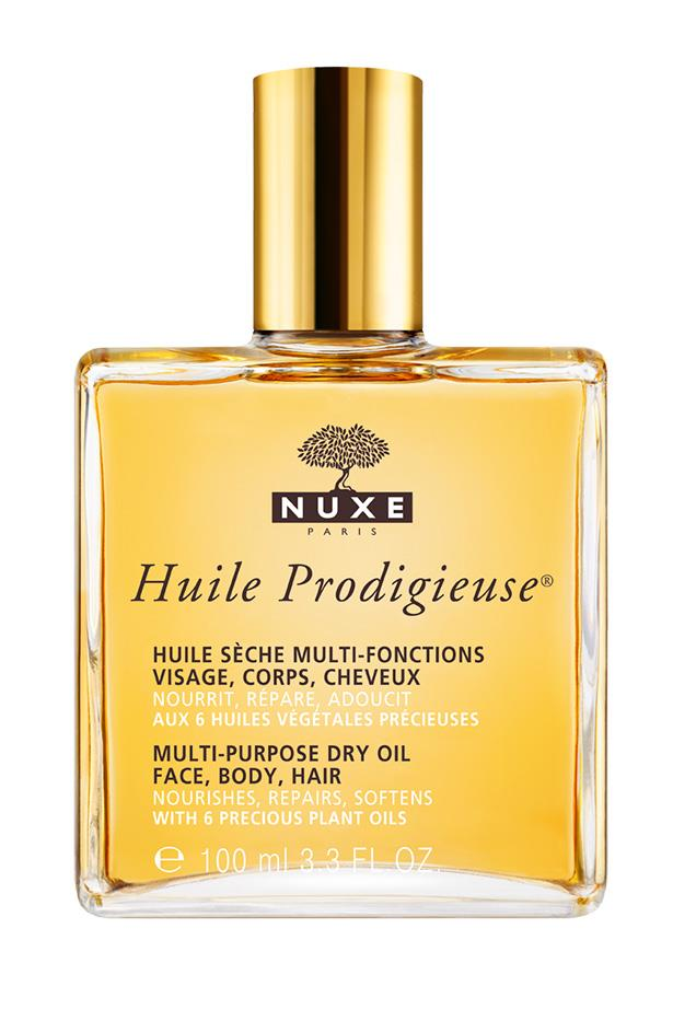 "**Best cult buy**<br> *Huile Prodigieuse by Nuxe, $42.99 at [Adore Beauty](https://www.adorebeauty.com.au/nuxe/nuxe-huile-prodigieuse-multi-purpose-dry-oil-100ml.html|target=""_blank""