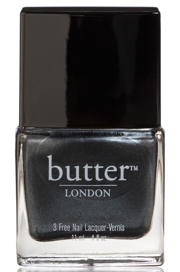 "Nail Lacquer in Chimney Sweep, $22, Butter London, <a href=""http://www.stylepatisserie.com"">stylepatisserie.com</a>"