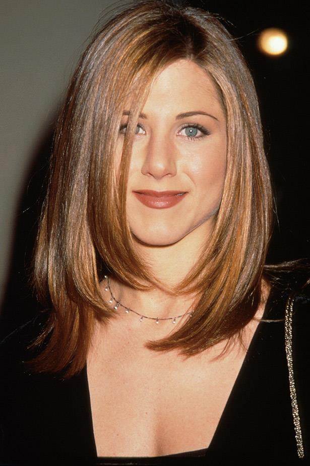 Jennifer Aniston rocking a bob back in 1997