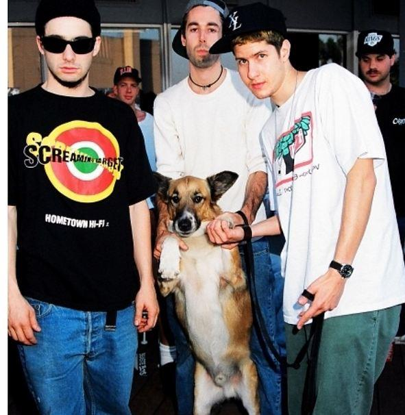 The Beastie Boys recruit a friend to front their party rights campaign.