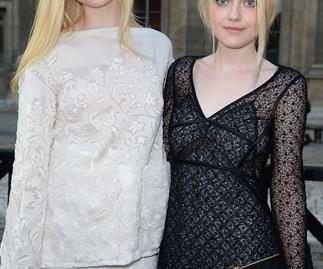 Dakota and Elle Fanning have royal blood
