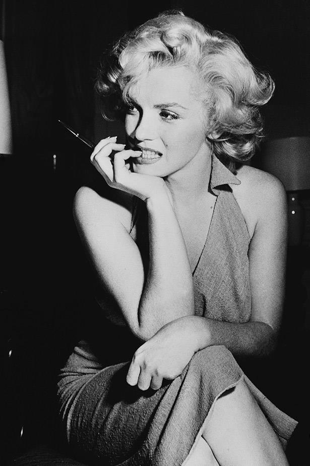 Allure and then some: Marilyn Monroe in the mid-50s.
