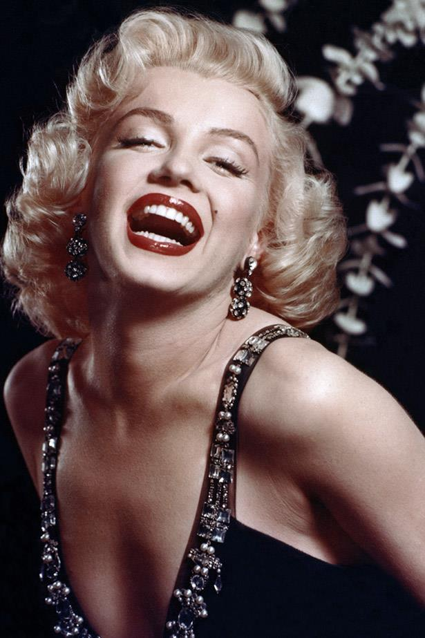 The on-screen Marilyn: Vivacious, electric and beautiful. Utterly flawless.