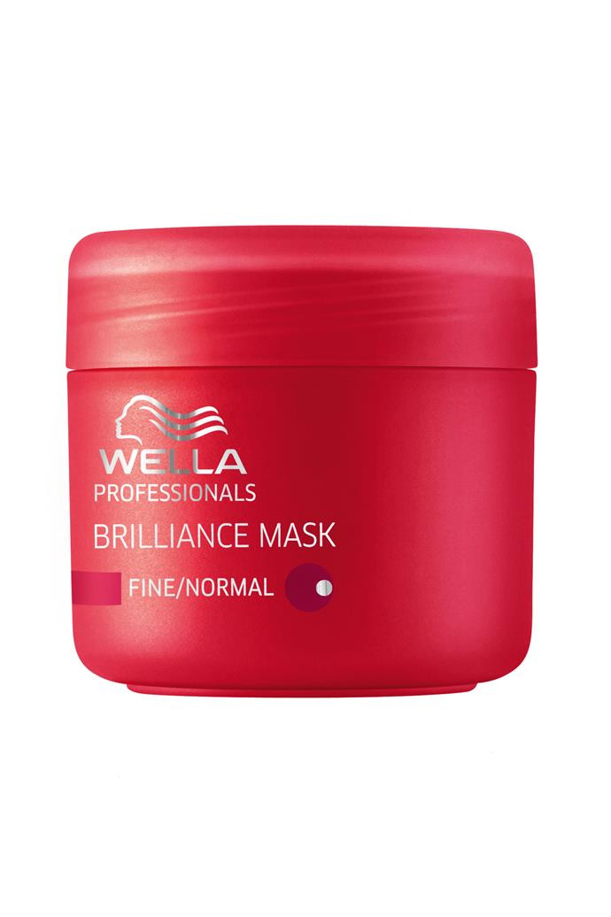 <p><strong>Brilliance Mask, $25, Wella Professionals, 1800 885 002</strong><p/> <p>Forget the usual three minute treatment; you've got time to treat your hair with this mask infused with diamond dust, brightening your colour and enhancing shine.<p/>