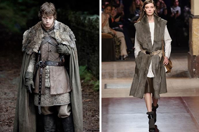 Theon Greyjoy <br><br> He's been to psychological hell and back so we're tempted to feel compassion – almost. Then we're reminded of his backstabbing betrayal in season 2. Still, there's always an excuse for Hermès.
