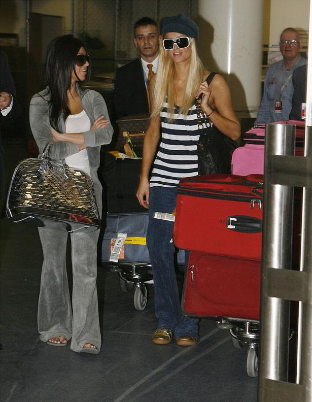 Remember when Kim Kardashian was just known as that girl that hung out with Paris? We do. Seen here wearing a Juicy number when Paris was visiting Sydney in 2006. The times, they are a changin'.