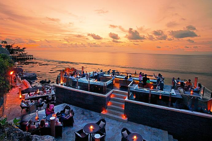 "<p><strong>Hotels made for partying</strong></p> <p>Ayana Resort And Spa, Jimbaran</p> <p>This is a must-visit thanks to its amazing Rock Bar. Set on natural rock 14 metres above the water, the bar offers spectacular 360-degree views. Arrive early to avoid buzz-killing wait times: the place packs out, especially on weekends.</p> <p><a href=""http://www.ayanaresort.com"">ayanaresort.com</a></p>"