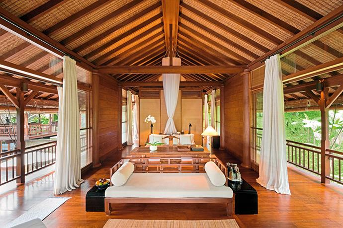 "<p><strong>Chill out</strong></p> <p>Como Shambhala Estate, Ubud</p> <p>Head to this five-star retreat on the Ayung River and spend your days taking dips in the infinity pool, overhauling your body and mind with the help of resident experts (including a yoga teacher and ayurvedic doctor) or blissing out at the amazing spa. No need to feel guilty about gorging on the local food: every dish at the estate's restaurants has been engineered for maximum nutrition. </p> <p><a href=""http://www.comoshambhala.com"">comoshambhala.com</a></p>"
