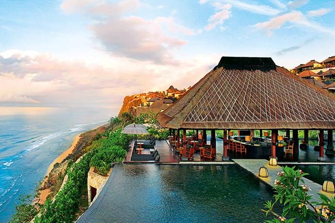 "<p><strong>Chill out</strong></p> <p>Bvlgari Resort, Uluwatu</p> <p>This clifftop property on Bali's southernmost tip has luxury down pat. There's a 24-hour butler service to cater to your every whim, from warming towels to booking a helicopter flight around the island, and a private beach just for guests. And don't miss the Royal Lulur For Two spa treatment. Three hours long, it was traditionally reserved for Javanese royalty, so you're in good hands.</p> <p><a href=""http://www.bulgarihotels.com"">bulgarihotels.com</a></p>"