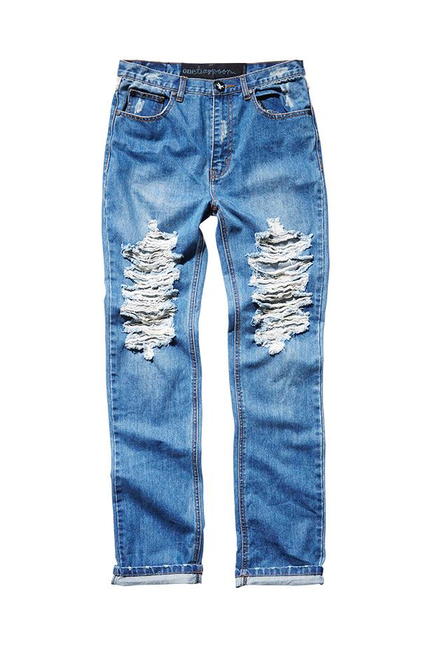 "Jeans, $140, One Teaspoon, <a href=""http://www.oneteaspoon.com.au"">oneteaspoon.com.au</a>"