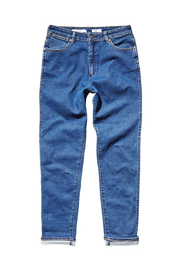 """Jeans, $140, Wrangler, <a href=""""http://www.wrangler.com.au"""">wrangler.com.au</a>"""