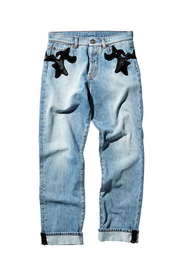 "Jeans, $2270, Louis Vuitton, <a href=""http://www.louisvuitton.com"">louisvuitton.com</a>"