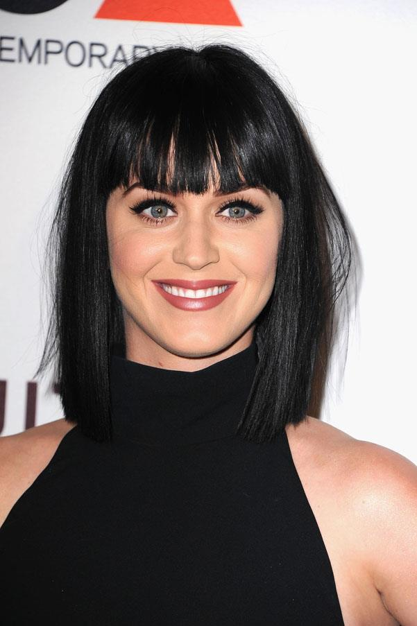 While Katy Perry has been pretty much every colour under the rainbow, she always seem to go back to her brunette roots.