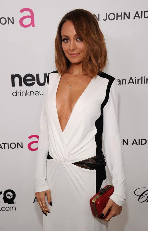 When Nicole Richie was a dark brunette with soft balayage she had us all waving this image at our hair colourist.
