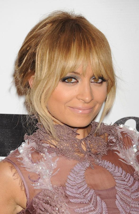 We also wanted this caramel-coloured fringe she switched to back in 2011.