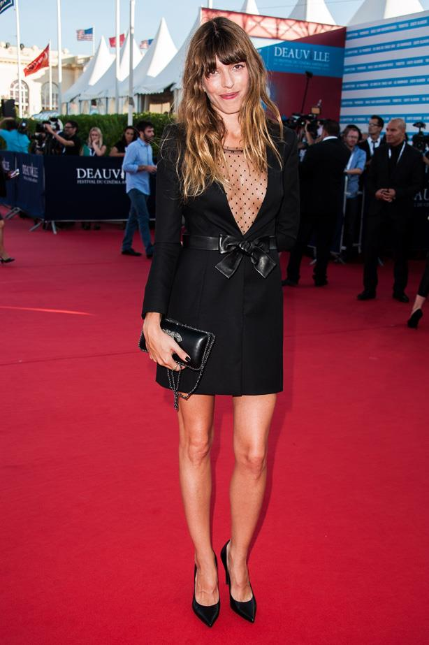 <strong>Lou Doillon</strong><br><Br> Parisian singer and half-sister to Charlotte Gainsbourg, Lou Diollon's style is slightly more feminine than her sibling's. When she's not showing off her pins on the red carpet in a black mini dress, with or without opaque stockings and usually with a deep V neckline, you'll find her rocking a Saint Laurent Le Smoking tux and wide brimmed hat.  <br>The key to her look is in it's simplicity.