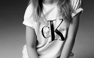 Lottie Moss for Calvin Klein