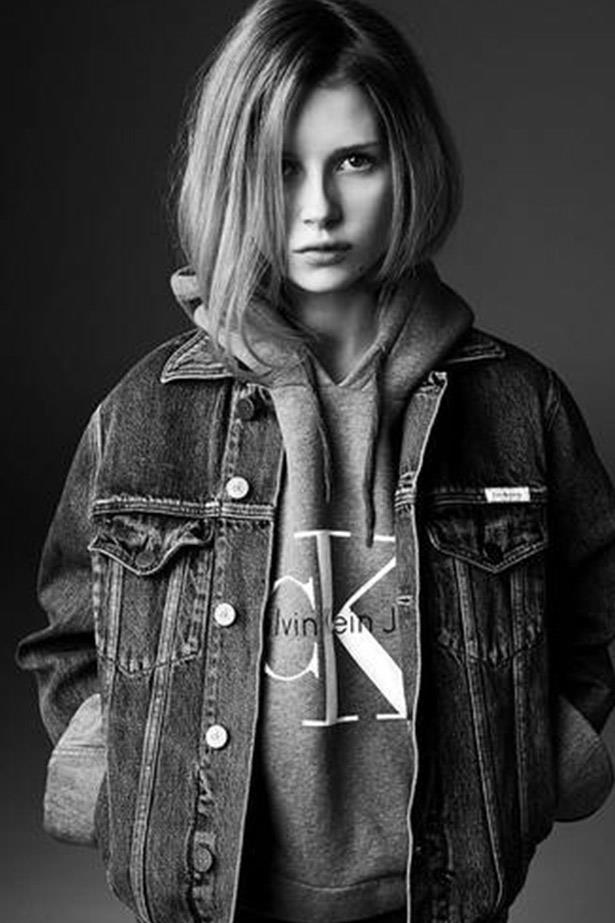 The Calvin Klein Jeans capsule collection will feature re-issued versions of Brooke Shields 80s high-waisted jeans and Kate Moss' boyfriend-style jeans as well as 90s-style hoodies and denim jackets.