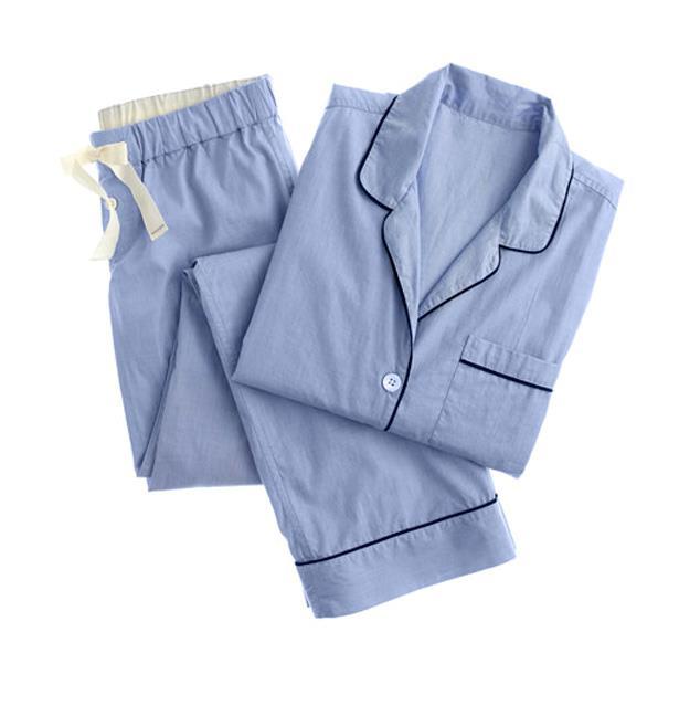 """JCrew Vintage Pajama set, $134.70, <a href=""""http://www.jcrew.com"""">jcrew.com</a>"""