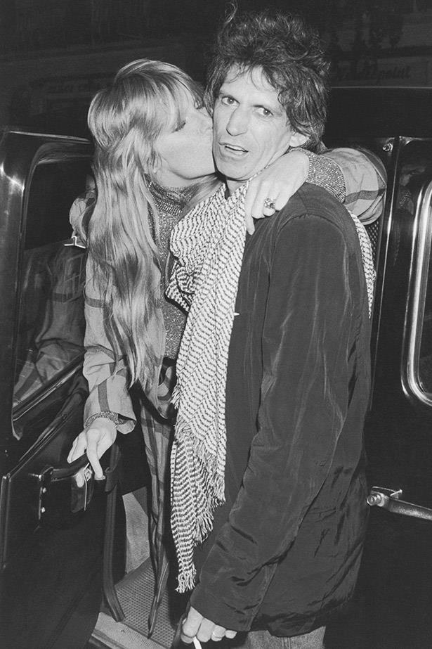 **Keith Richards and Patti Hansen**  <br><br> Believe it or not, The Rolling Stones guitarist Keith Richards and model Patti Hansen have been married for a whopping 36 years. The couple were married in Mexico on Richards' 40th birthday in 1983, and share two daughters together—Theodora and Alexandra.