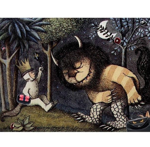 Original: Where The Wild Things Are, Maurice Sendak <br> Added: Fendi monster charms and bags <br><br> Instagram: @copylab
