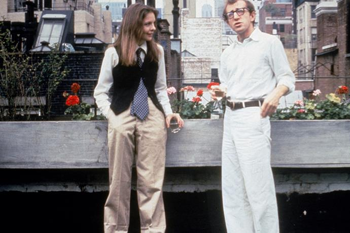 Always inspiring: Diane Keaton and Woody Allen in <em>Annie Hall</em>