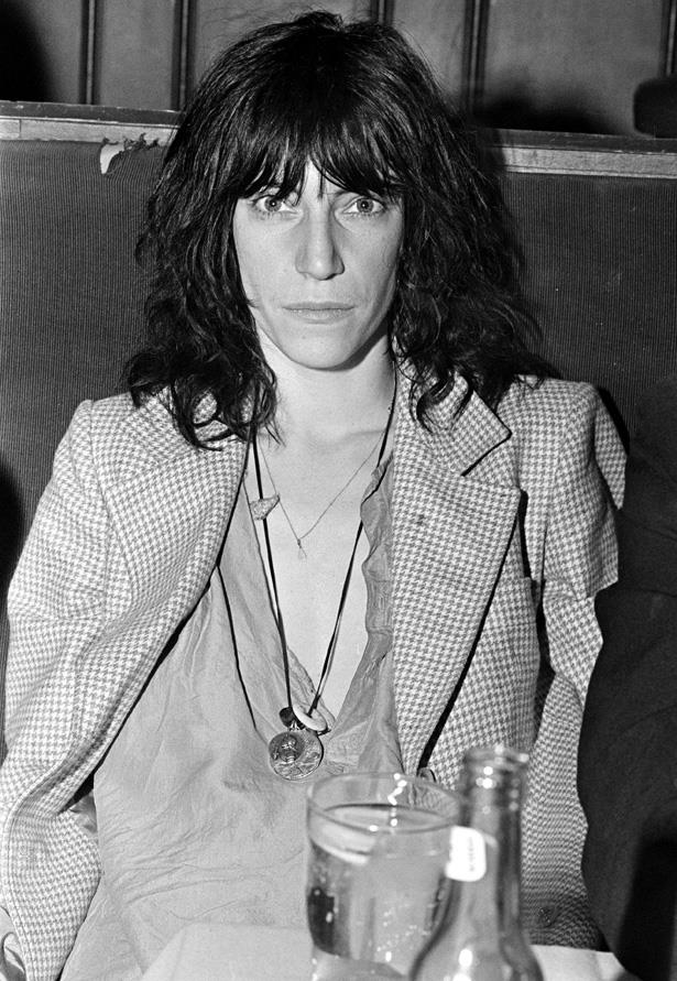 Poet, writer and rock legend Patti Smith's dedication to her cool, tomboy style was so strong that she once cut her hair to like Keith Richards.