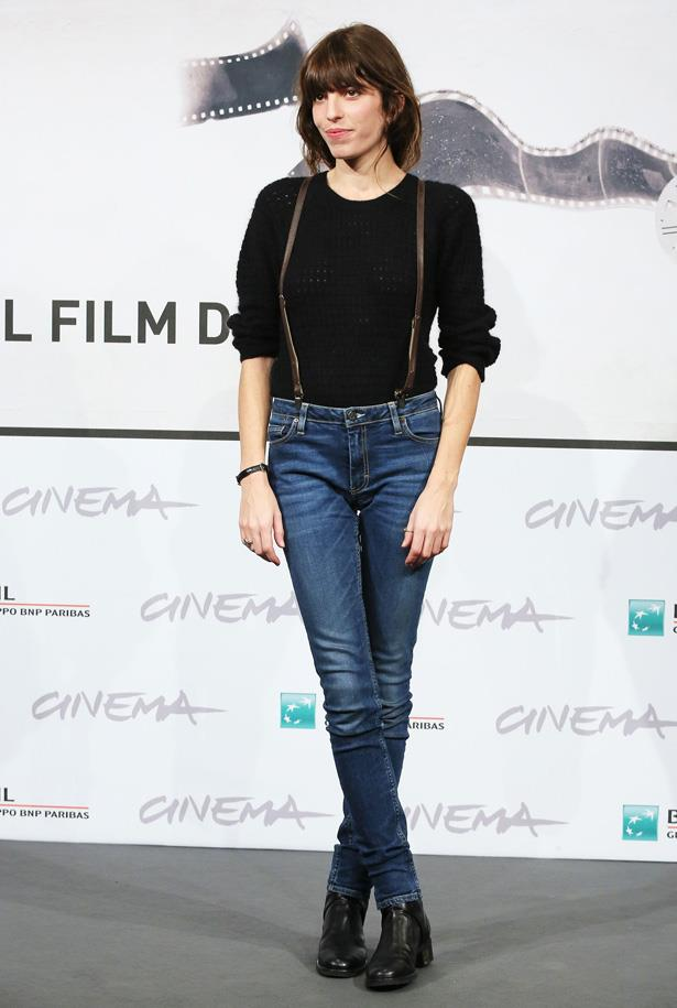 The apple doesn't fall far from the tree when it comes to the daughters of Jane Birkin. Youngest daughter Lou Doillon often channels her mother's cool, masculine style.