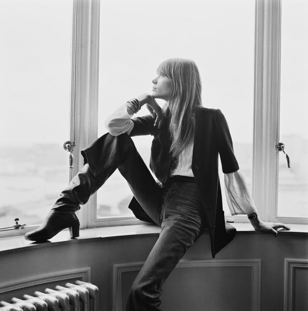 In her book, <em>It</em>, Alexa Chung says that one of her longtime style muses is French singer and actress, Françoise Hardy, and its easy to see why, the two have very similar styles.