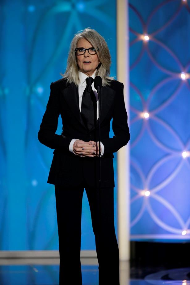 If you don't already appreciate Diane Keaton's style- then you should be googling her style ASAP. The legendary actress has tomboy dressing on lock. Bow down.