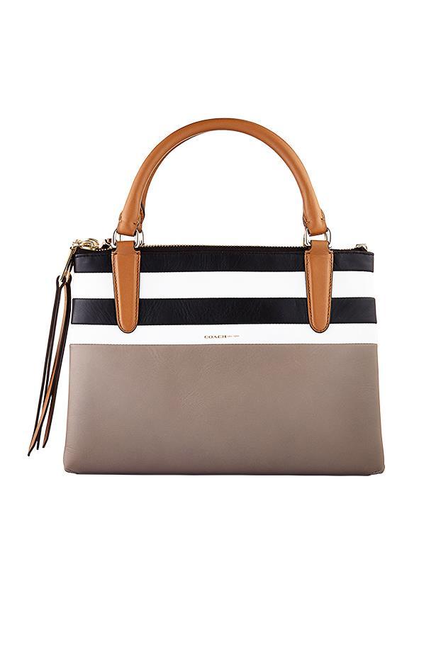 """Bag, $595, Coach, <a href=""""http://www.coach.com"""">coach.com</a>"""