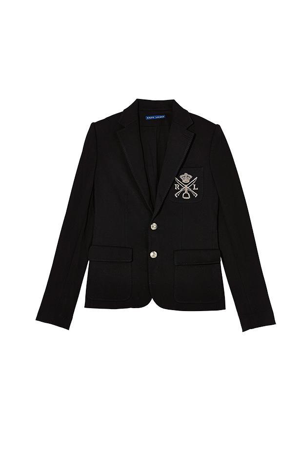 Jacket, $449, Ralph Lauren, (03) 9530 4074