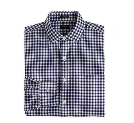 J Crew Gingham shirt
