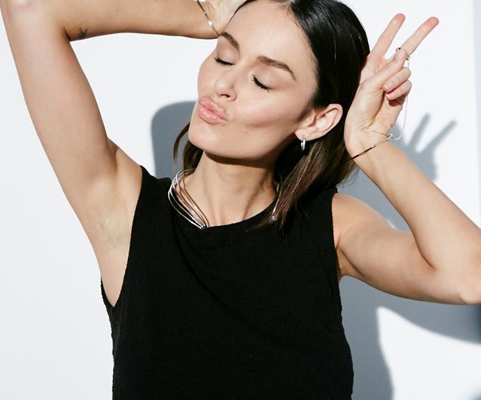 Top model Nicole Trunfio