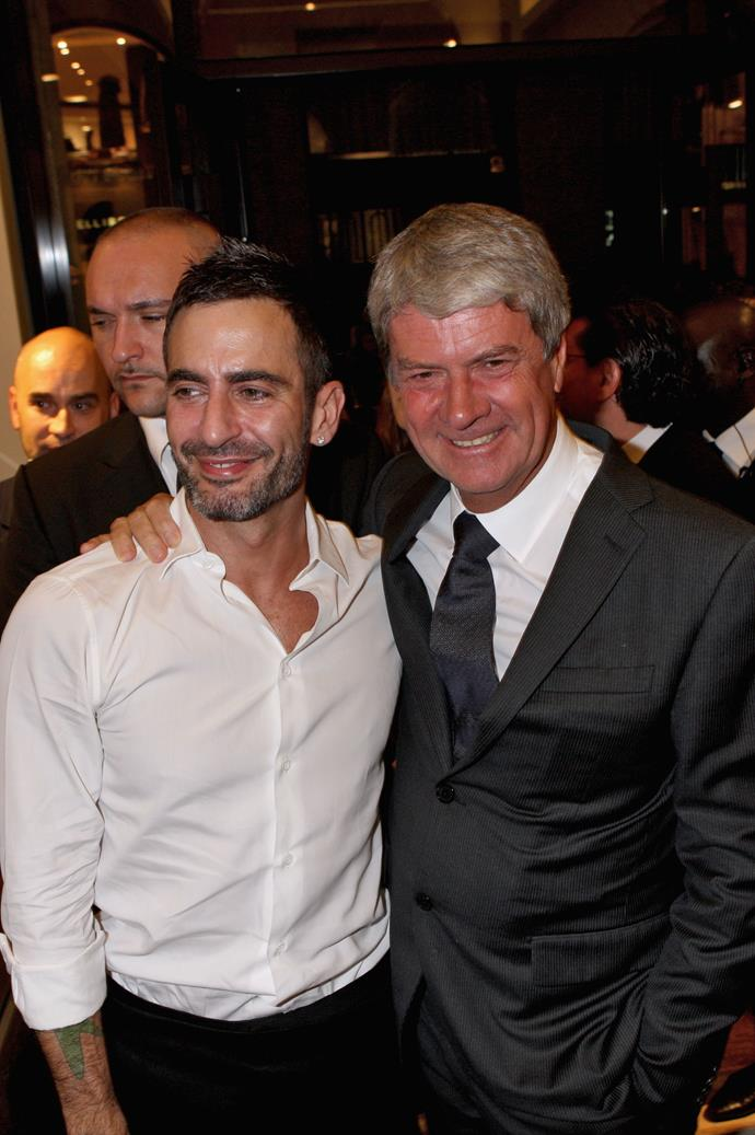 Marc Jacobs and Yves Carcelle