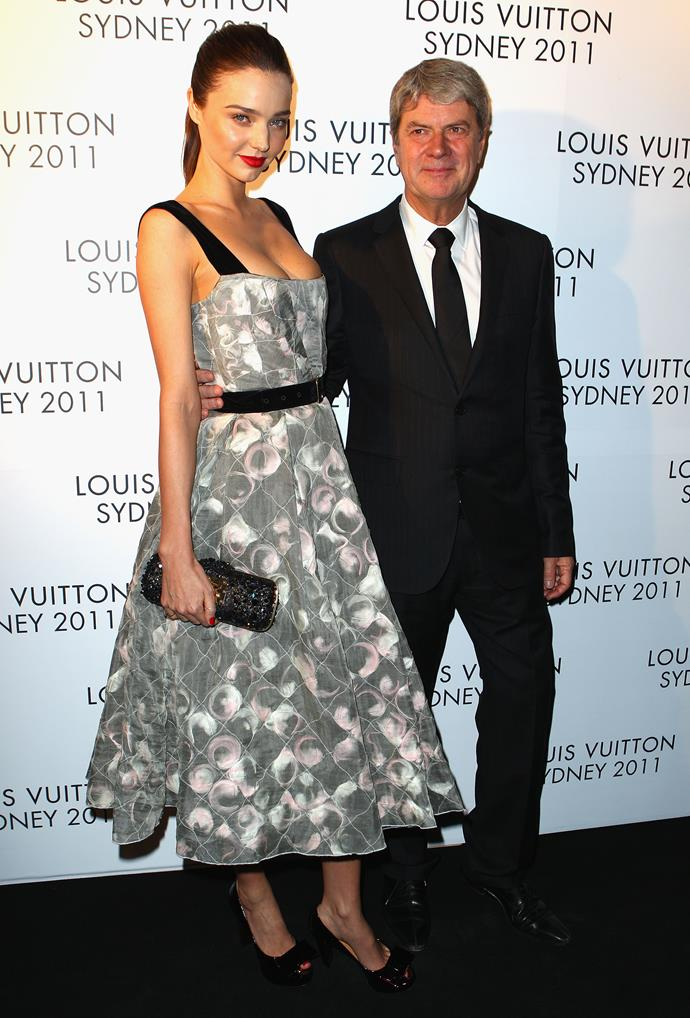 Miranda Kerr and Yves Carcelle