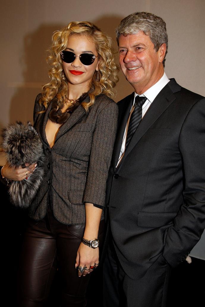 Rita Ora and Yves Carcelle