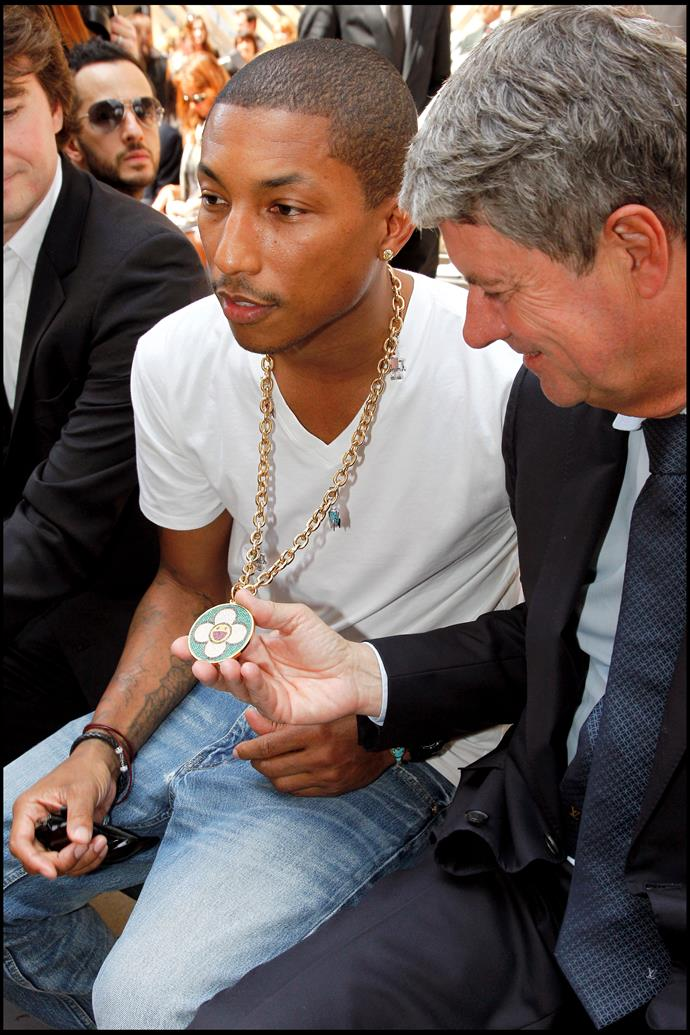 Pharrell Williams and Yves Carcelle