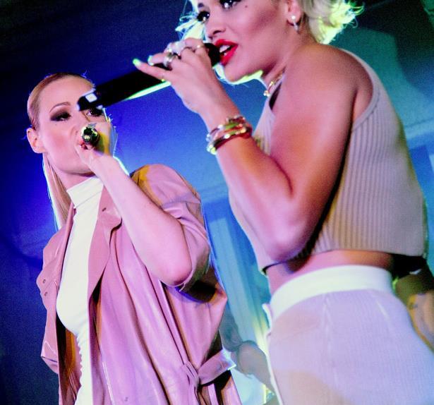 Iggy Azalea and Rita Ora for Calvin Klein
