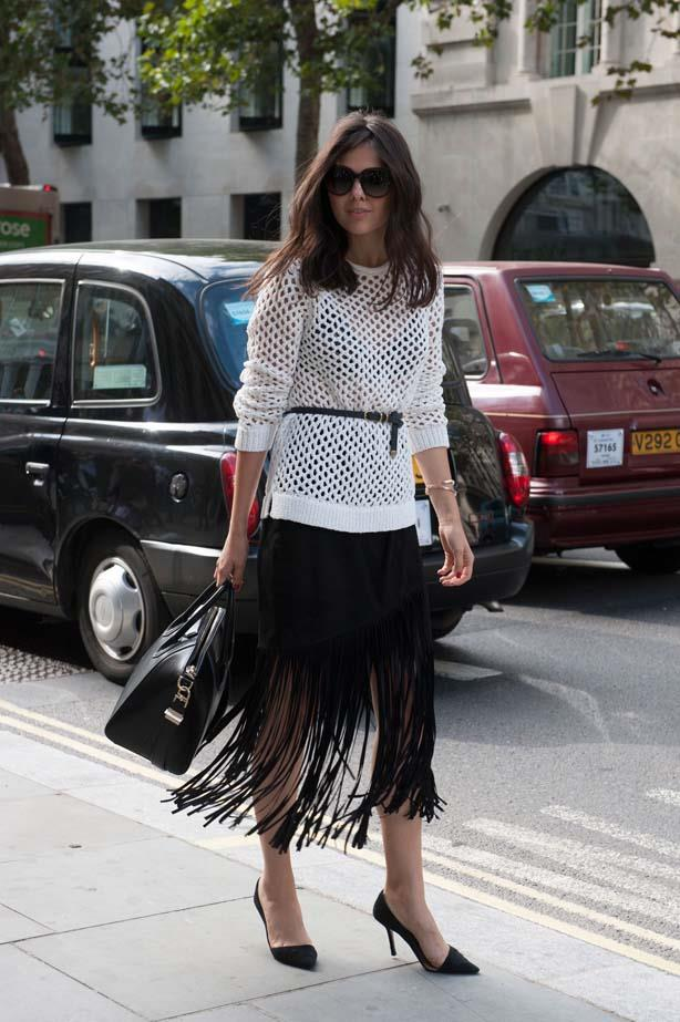 Fringed skirts are anticipated to be huge in 2015, plan your purchase now.