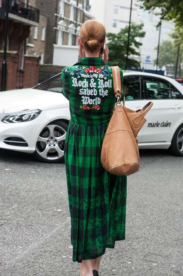 London's punk vibe is still going strong even during fashion week.