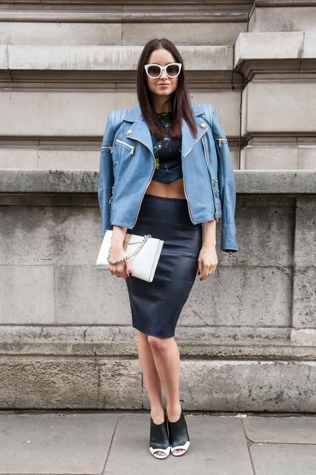 Flaunt your mid-drift in a tasteful way and layer over a leather or denim jacket.