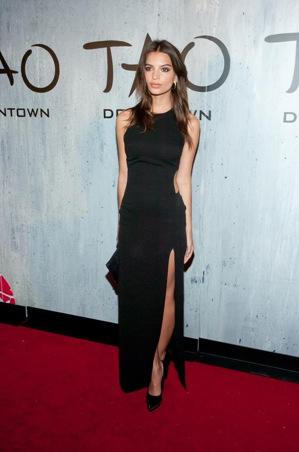 At the opening party for <em>TAO Downtown</em> nightclub in New York, September 2013.