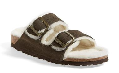 Shearling Birks? Let's discuss.