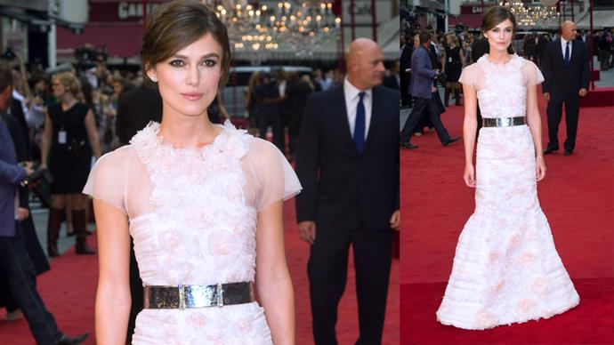 Keira Knightley wedding dress déjà vu