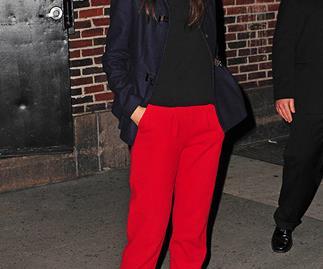 Is Katie Holmes missing New York Fashion Week?